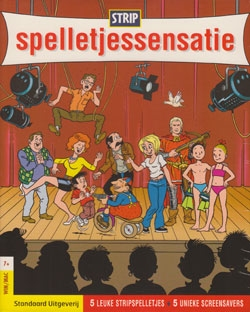 Strip spelletjessensatie cd-rom.